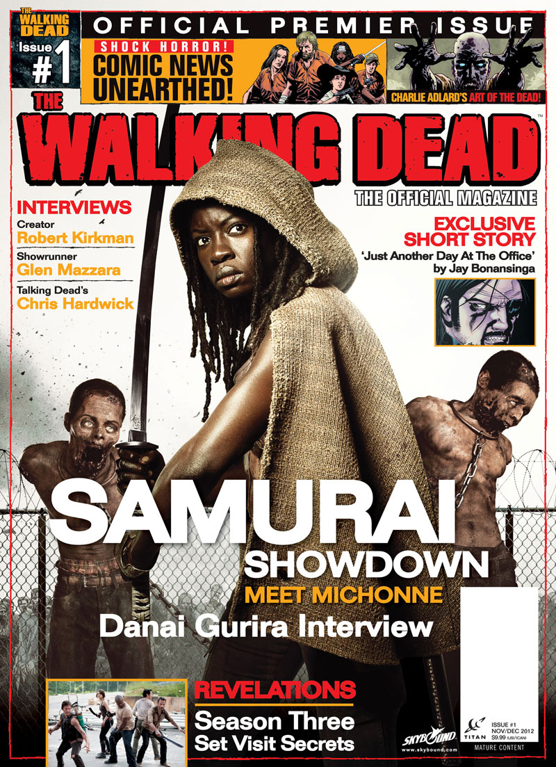 The Walking Dead Magazine Out Today