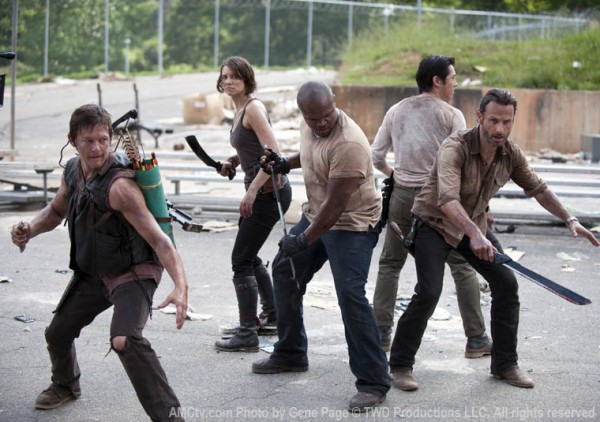 The walking dead cast 600x422