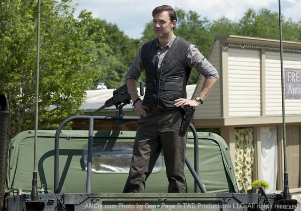 david morrissey The walking dead season 3 600x422